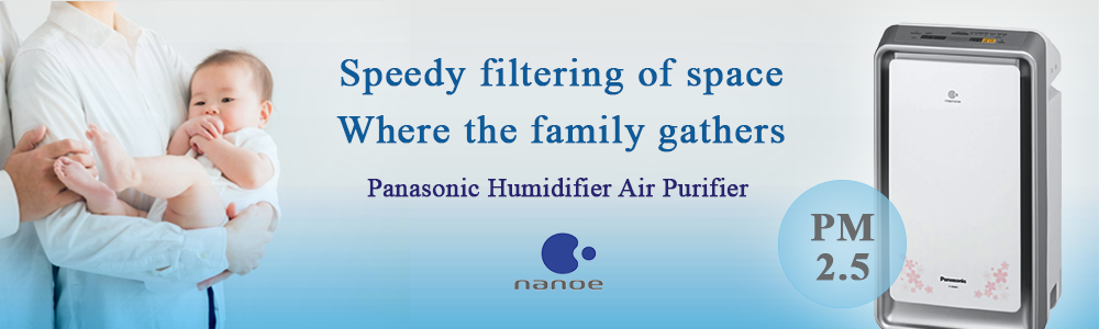 Panasonic Humidifier Air Purifier