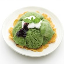 Sweets-Uji Matcha Frozen Dessert Mix 8 packs set [KYOTO]