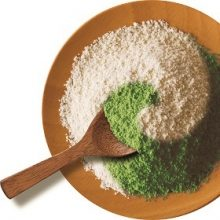 Protein-Soybean powder with matcha ...