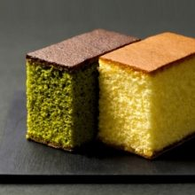 Sweets-Castella and matcha castella...