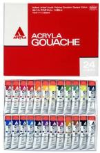 Holbein Acrylic Gouache (Acryla Gouache) 24 Color Set D416 20ml (No.6) 007416