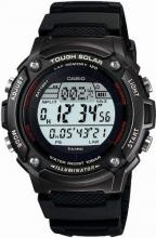 CASIO watch sports gear LAP MEMORY 120 solar W-S200H-1BJF black