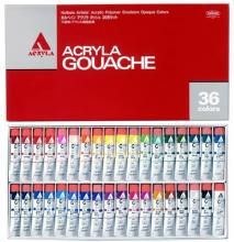 Holbein Acrylic Gouache (Acryla Gouache) 36 Colors Set D418 20ml (No.6) 007418