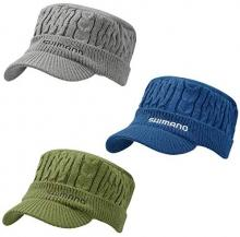 SHIMANO Fishing Hat Low Gauge Knit Work Cap CA-077T Free Charcoal
