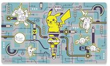 Overseas Pokemon Center Limited Pokemon Card Game Playmat Pikachu Power Play (Parallel Import)