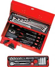 KTC 9.5sq. Tool set (mold opening metal case) 43-piece set SK3434S