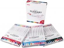 ZEBRA water-based pen click cart 36 colors set WYSS22-36C