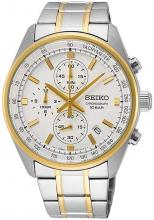 SSB380P1 SEIKO Chronograph White Men'sAnalog Business Quartz SEIKO