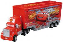 Let's play with Disney Cars Tomica maintenance trailer! Mac (Cars 1 type)