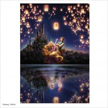 Jigsaw puzzle Rapunzel The future of the lake surface 1000 pieces [Glowing puzzle] (51x73.5cm)