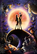 500Pieces Puzzle Nightmare Before Christmas Adorable Feelings Gutto Series (Pure White) (25x36cm)