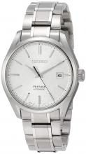 SEIKO Wristwatch Presage Washi Pattern Silver Dial Mechanical Sapphire Glass Titanium Model SARX055 Men's Silver