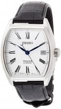 SEIKO Wrist Watches Plasage Jade Dial Mechanical Dual Cylinder Sapphire Glass SARX051 Men's Black