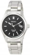 SEIKO Mechanical Mechanical NET distribution model Classic line Automatic winding (with hand winding) Made in Japan Back lid see-through back Strengthened waterproof for daily life (10 atm) SZSB015 Men's Silver