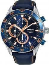 SEIKO LORUS Watch Men'sBlue 100m Water Resistant Chronograph RM341FX9