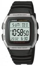 CASIO Wristwatch Standard W-96H-1AJF Black
