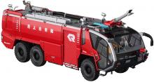 Hasegawa Model Kits 1/72 Science World Series Rosenbauer Panther 6 × 6 Airport Chemical Fire Engine Plastic Model SW05