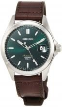 SEIKO Mechanical Mechanical NET distribution model Classic line Automatic winding (with hand winding) Made in Japan Back lid see-through back Strengthened waterproof for daily life (10 atm) SZSB018 Men's Brown