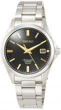 SEIKO Mechanical Mechanical NET distribution model dress line self-winding (with hand winding) Made in Japan back lid see-through back strengthened waterproof for daily life (10 atm) SZSB014 Men's Silver