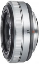 FUJIFILM single focus wide angle lens XF27mmF2.8 S silver