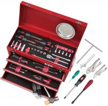 KTC tool set tool chest for motorcycle maintenance Red 56-piece set SK35621XMC (2020-21 SK product)
