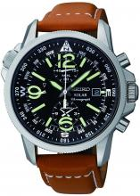 SEIKO Solar Military Pilot Chronograph SSC081 Overseas Limited Model