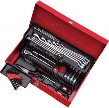 KTC Tool Set Single Opening Metal Case Household Red 43 Piece Set SK34321S (2020-21 SK Product)