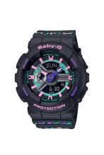 Baby-G geometric pattern BA-110TH-1AJF Ladies
