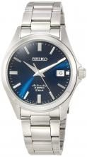 SEIKO Mechanical Mechanical NET distribution model Dress line Automatic winding (with hand winding) Made in Japan Back lid see-through back Strengthened waterproof for daily life (10 atm) SZSB013 Men's Silver