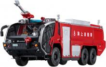 Hasegawa Model Kits 1/72 Maritime Self-Defense Force Rosenbauer Panther 6 × 6 Airport Chemical Fire Engine Plastic Model SP435