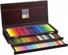Holbein color pencil 150 colors set wooden box