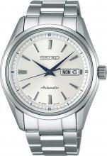 SEIKO Watch Presage Mechanical Automatic (with manual winding) Sapphire glass SARY055 Men's Silver