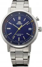 ORIENT watch STYLISH AND SMART stylish and smart solar radio WV0111SE blue WV0111SE