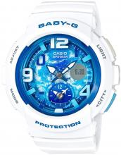 CASIO Baby-G BEACH TRAVELER BGA-190GL-7BJF watch white