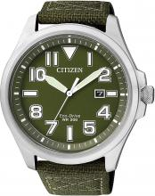 CITIZEN Eco Drive AW1410-32X Men's Green