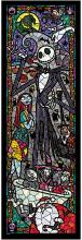 456Pieces Puzzle Nightmare Before Christmas Gyutto Series (Stained Art) (18.5x55.5cm)
