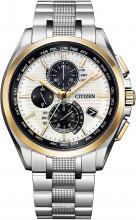 CITIZEN ATTESA A World Limited 700 Eco-Drive Radio Clock Direct Flight ACT Line AT8048-55A Men's Silver