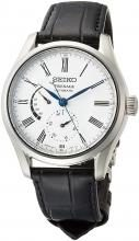 SEIKO Watches Plazaju 琺 瑯 Dial Mechanical Dual Curve Sapphire Glass SARW035 Men's Black