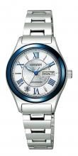 """Citizen Collection Mechanical Ladies Limited Model """"Miyuki"""" World Limited 2,500 PD7165-65A Silver"""