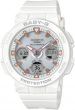 CASIO Baby-G BEACH TRAVELER radio wave solar BGA-2500-7AJF Ladies White