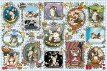 1000Pieces Puzzle Wachifield Baby Dayans Gallery (50x75cm)