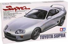 TAMITA 1/24 Sports Car No.123 Toyota Supra Plastic Model 24123