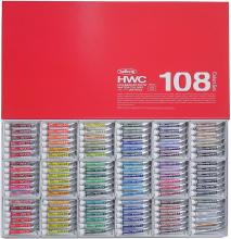 Holbein Art Materials Transparent Watercolor 108 All Color Set W422 5ml (No.2) 003422