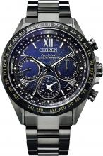 Citizen CC4015-86L Men's Wristwatch Atesa Titanium Technology 50th Anniversary Cosmic Blue Collection Limited Edition 1,300 Pieces Replacement Band (Nylon) Serial Number Included CC4015-86L Black