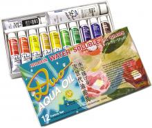Holbein Oil Paint Aqua Oil Color DUO 12 Color Set DU903 20ml (No.6) 023903