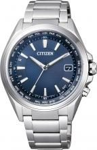CITIZEN ATTESA Eco-Drive Radio Clock Direct Flight Hand Display World Time CB1070-56L Men's