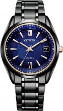 Citizen AS7164-99L Wristwatch, Exceed Titanium Technology, 50th Anniversary Cosmic Blue Collection, Limited Edition 700 Pieces, Serial Number Included, Black