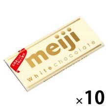 Meiji White Chocolate Chocolate Sweets x 10 [pantry]