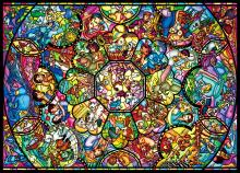 2000Pieces Puzzle Disney All Star Stained Glass (73x102cm)