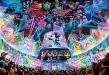 1000Pieces Puzzle Disney Water Dream Concert (Hologram Jigsaw) (51x73.5cm)